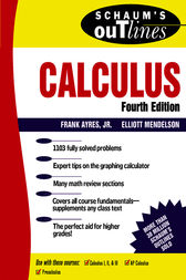 Schaum's Outline of Calculus by Frank Ayres