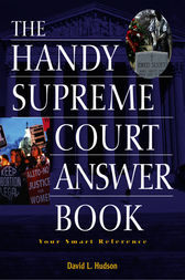 The Handy Supreme Court Answer Book by David L. Hudson