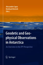 Geodetic and Geophysical Observations in Antarctica by Alessandro Capra