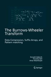 The Burrows-Wheeler Transform: by Donald Adjeroh