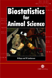 Biostatistics for Animal Science by M. Kaps