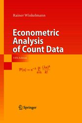 Econometric Analysis of Count Data by Rainer Winkelmann