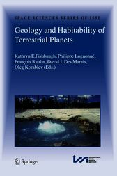 Geology and Habitability of Terrestrial Planets