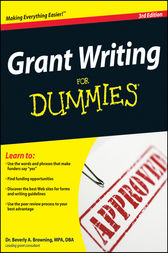 Grant Writing For Dummies by Beverly A. Browning