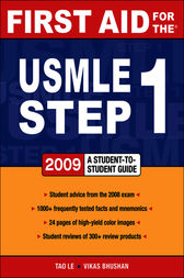 First Aid for the USMLE Step 1 2009 by Tao Le