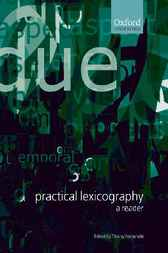 Practical Lexicography by Thierry Fontenelle