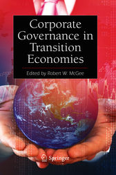Corporate Governance in Transition Economies by Robert W. McGee