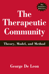 the therapeutic community theory model and method pdf