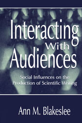 Interacting With Audiences by Ann M. Blakeslee