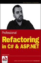 Professional Refactoring in C# & ASP.NET by Danijel Arsenovski