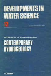 Contemporary Hydrogeology by David Stephenson