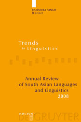 Annual Review of South Asian Languages and Linguistics by Rajendra Singh