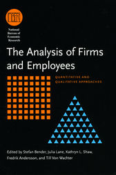 The Analysis of Firms and Employees by Stefan Bender