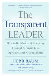 The Transparent Leader by Herb Baum