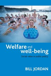 Welfare and well-being by Bill Jordan