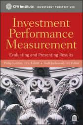 Investment Performance Measurement by Philip Lawton