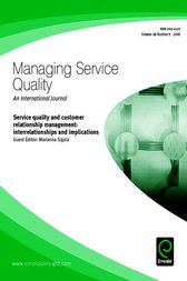 Service Quality and Customer Relationship Management by Marianna Sigala
