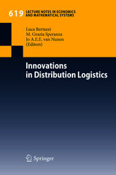 Innovations in Distribution Logistics by Luca Bertazzi