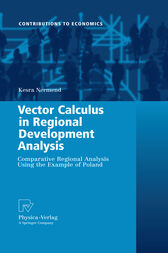 Vector Calculus in Regional Development Analysis by Kesra Nermend