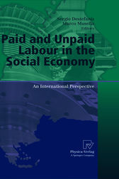 Paid and Unpaid Labour in the Social Economy by Sergio Destefanis