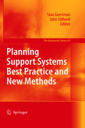 Planning Support Systems Best Practice and New Methods by Stan Geertman
