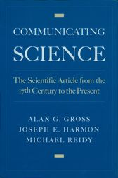 Communicating Science by Alan G. Gross