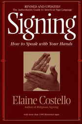 Signing by Elaine Costello