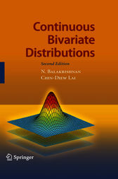 Continuous Bivariate Distributions by N. Balakrishnan