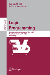 Logic Programming by Patricia M. Hill
