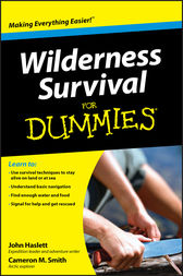 Wilderness Survival For Dummies by Cameron M. Smith