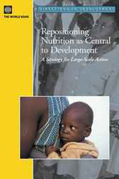 Repositioning Nutrition as Central to Development by World Bank