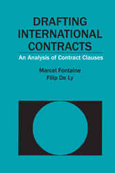 Drafting International Contracts by Marcel Fontaine