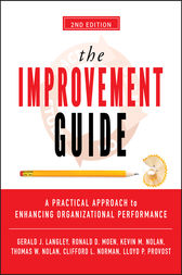 The Improvement Guide by Gerald J. Langley