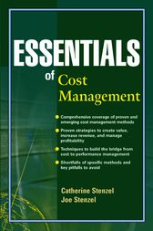 Essentials of Cost Management by Catherine Stenzel