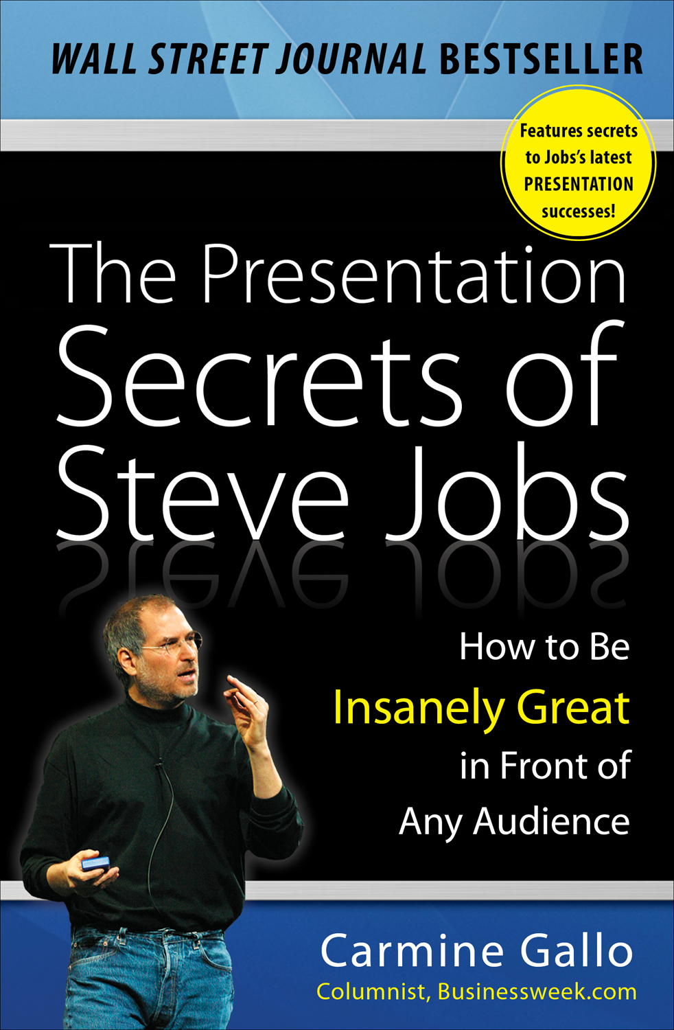Download Ebook The Presentation Secrets of Steve Jobs: How to Be Insanely Great in Front of Any Audience by Carmine Gallo Pdf