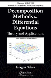 Decomposition Methods for Differential Equations by Juergen Geiser