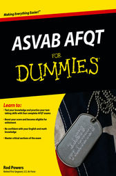 ASVAB AFQT For Dummies by Rod Powers