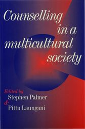 Counselling in a Multicultural Society by Stephen Palmer