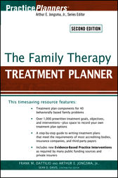 The Family Therapy Treatment Planner by Frank M. Dattilio