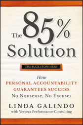 The 85% Solution by Linda Galindo