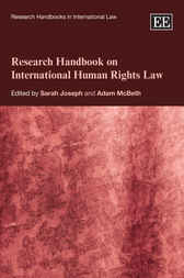 Research Handbook on International Human Rights Law by Sarah Joseph