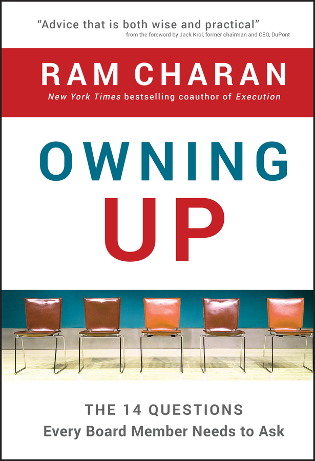 Download Ebook Owning Up. by Ram Charan Pdf