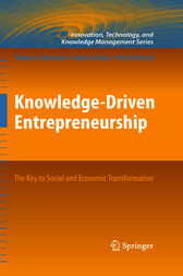 Knowledge-Driven Entrepreneurship by Thomas Andersson
