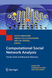 Computational Social Network Analysis by Ajith Abraham