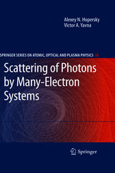 Scattering of Photons by Many-Electron Systems by Alexey N. Hopersky