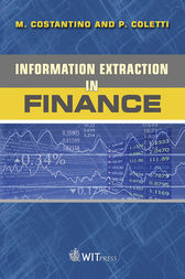 Information Extraction in Finance by M. Costantino