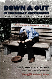 Down and Out in the Great Depression by Robert S. McElvaine