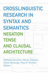 Crosslinguistic Research in Syntax and Semantics: Negation, Tense, and Clausal Architecture