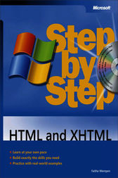 HTML and XHTML Step by Step by Faithe Wempen