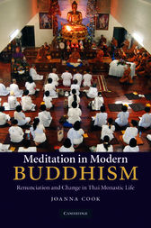 Meditation in Modern Buddhism by Joanna Cook
